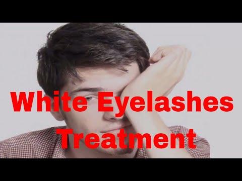 White Eyelashes Treatment | Treatment for White Eyelashes
