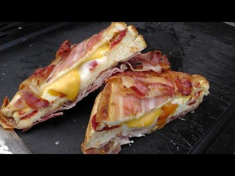 Westmünsterland BBQ Nr. 14 - Full Bacon Jacket Cheese Toast
