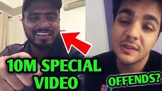 Amit Bhadana 10M Special Video ANNOUNCEMENT | BB Ki Vines | Ashish Chanchlani Offend People? |