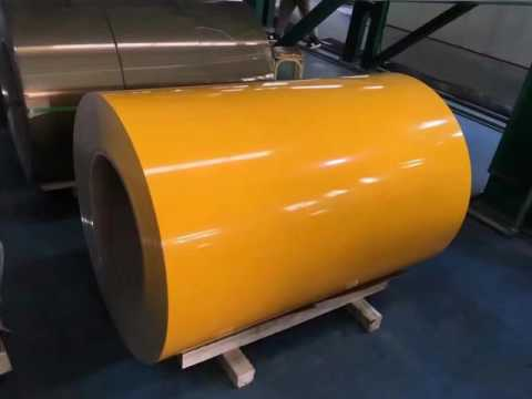Colored aluminum products
