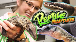 Touring Reptile Rapture! (Behind the Scenes!)