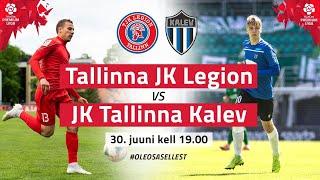 TALLINNA JK LEGION - JK TALLINNA KALEV PREMIUM LIIGA 10. voor