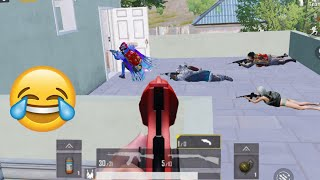 Cute Noobs + Blind Noobs = Fun 🤪🤣   PUBG MOBILE FUNNY MOMENTS