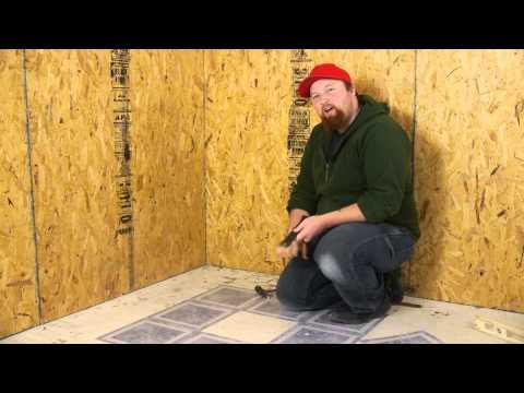 How to Remove Self-Adhesive Vinyl From Hardwood Floors : Flooring Repairs