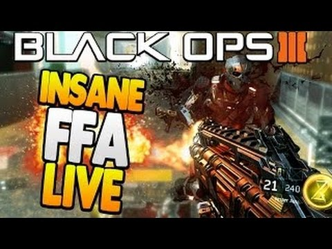 Black Ops 3 FFA Live Commentary #2