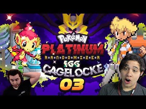 JUBILIFE JUMBLE! Pokémon Platinum Randomizer EggLocke CageLocke EP03 w/ MunchingOrange and aDrive