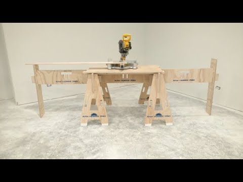 Saw Horse Pro    Miter Stand and Work Station