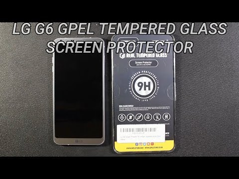 LG G6 GPEL Tempered Glass Screen Protector