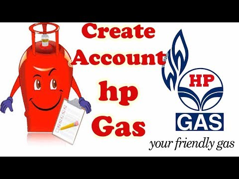 Hp Gas - how to create hp gas online account in Hindi | myhpgas.in pe khata kaise banaye