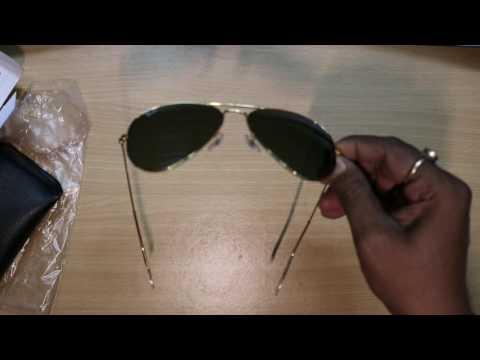 Ray Ban Green Aviator, Unboxing (HINDI) TECHNICAL ASTHA