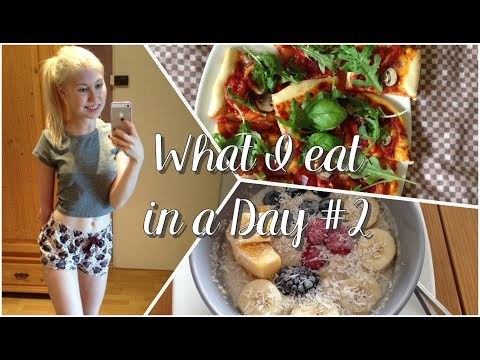 What I Eat In A Day #2 - Anorexia Recovery [Vegan]