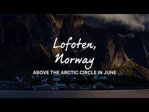 Lofoten, Norway in June