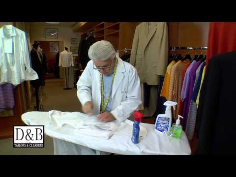 D&B Dry Cleaners Main Line Philadelphia - Red Wine Removal