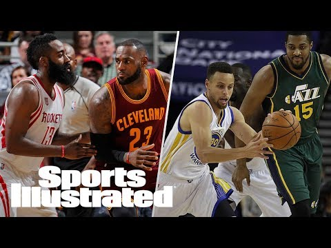 Warriors In Trouble After Jazz Defeat? James Harden Vs LeBron James | SI NOW | Sports Illustrated