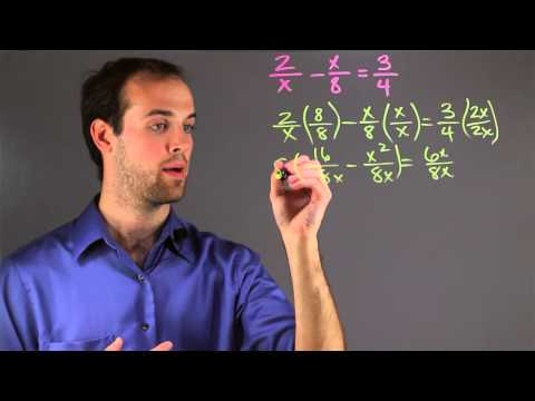 How to Teach Rational Expressions : Math Skills