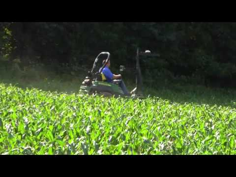 Using Trimble Technology for Corn Mazes