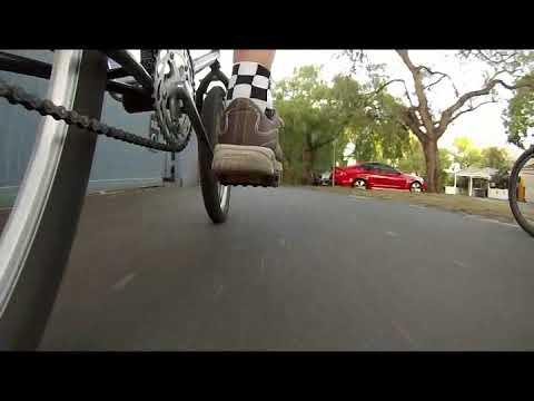 Kensington pump track & surrounds bike ride.