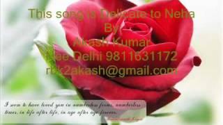 Very Rare Song Tere Mere Pyar Ka-Kumar sanu.wmv