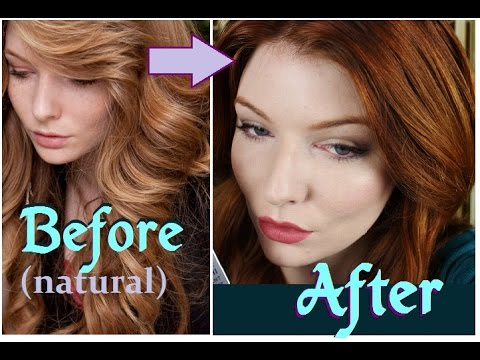 How I Get My (RED, GINGER, AUBURN) HAIR COLOR ❤