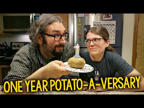 800 Pound Couple Tries Potato Diet For 2 Weeks, Inspired by