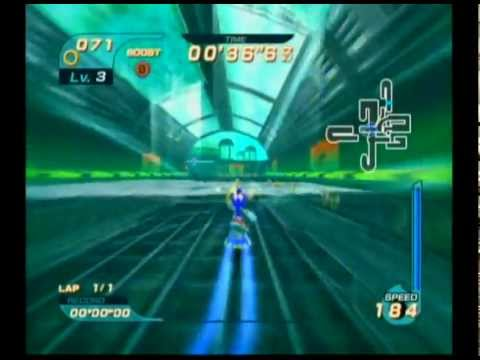 Sonic Riders - Missions - Ice Factory