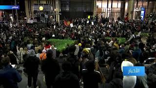شاهد | لقطات مباشرة من مينابوليس لمتظاهرين تحدو قرار ترامب وكسروا حظر التجول