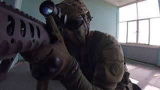 Ex British Soldier Tries Airsoft And DESTROYS EVERYONE!