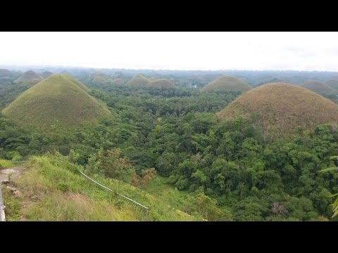 Chocolate Hills, Bohol Philippines ~ Philippines tourism ~ My Motorcycle Adventures