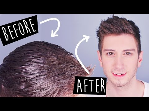 3 Tricks to Mattify Greasy Hair | Men's Hairstyles