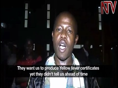 New laws on yellow fever vaccination leave many travellers stranded at Kenyan border