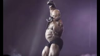 Kai Greene guest posing less than a week out from Olympia