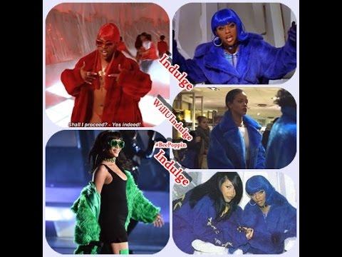 Rihanna Served Up Vintage Lil' Kim At The (i Heart Radio Awards 2015) BBHMM