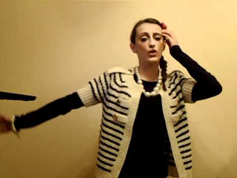 Jessica Hopkins caught Singing at Home to Cher Lloyd 004.AVI