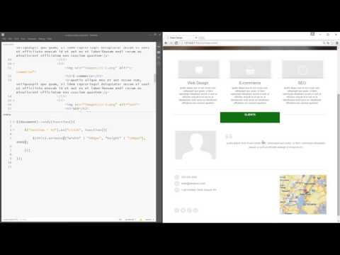 jQuery Tutorial for Beginners #19 - Animations in jQuery