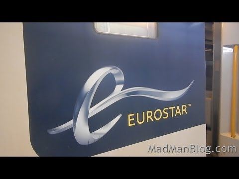 Eurostar Train Between London and Paris