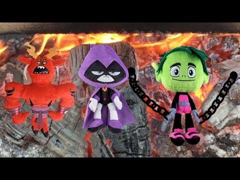 Teen Titans Go! Trigon, Raven and Beast Boy