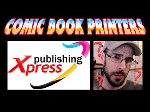 Publishing Xpress - Printing Comic Books