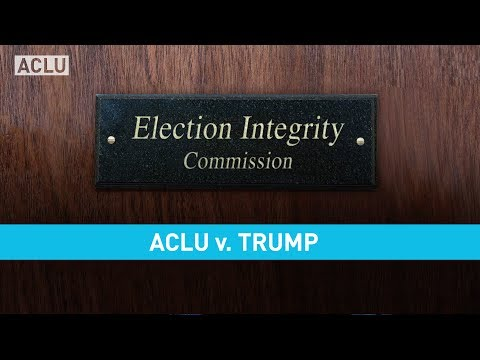 ACLU v. Trump: The Fight for Voting Rights