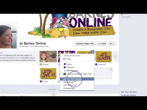 How to Change Your Facebook Page Tab Image