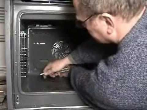 How to replace Bosch fan oven element
