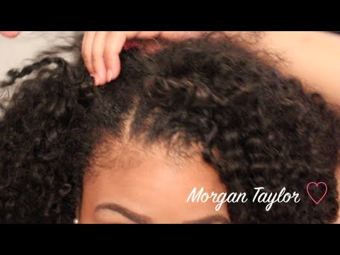 ❤ How I Blend My Natural Hair w/ my Kinky-Curly