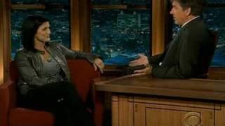 Gina Carano - Craig Ferguson Show (9-29-08) HQ