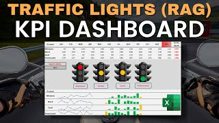 Create A Stunning Excel Traffic Lights Dashboard In Excel 2016
