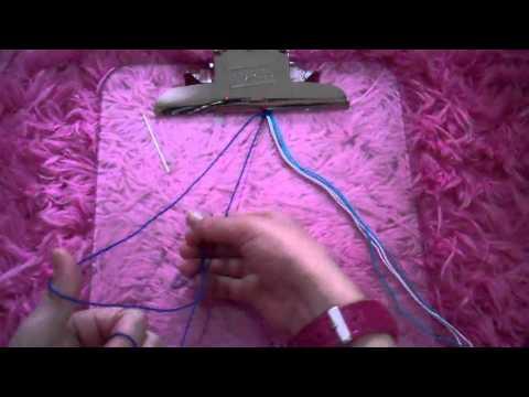 How to make the flip flop zig zag friendship bracelet