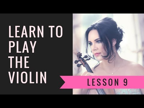 Learn the VIOLIN | EASY | How to Play the VIOLIN - Lesson 9/20 - All the notes!