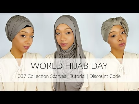 037 Collection | Hijab & Turban Tutorials | Discount Code