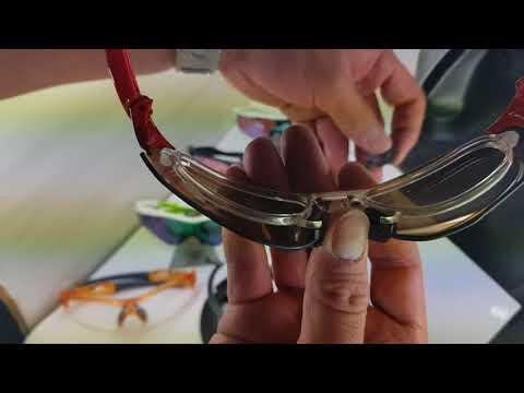 Oakley Prescription clip for EV Zero sports sunglasses
