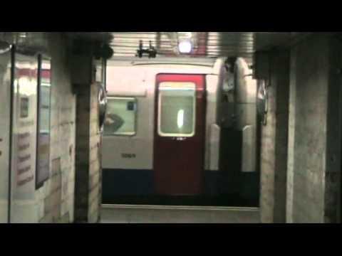 London Underground Victoria Line 1967 Stock at Kings Cross