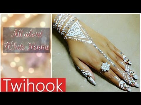 All About White Henna | How to Apply | How to Remove| Tutorial by Priyanka