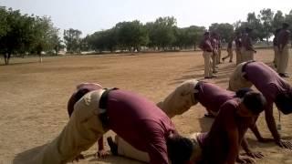 Police training centre saeedabad